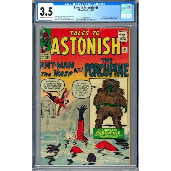 Tales to Astonish #48 CGC 3.5 (OW-W) *0359349003*