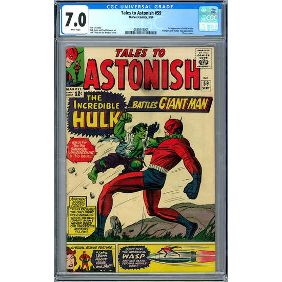Tales to Astonish #59 CGC 7.0 (W) *0359349005*