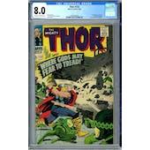 Thor #132 CGC 8.0 (OW-W) *0359349008*