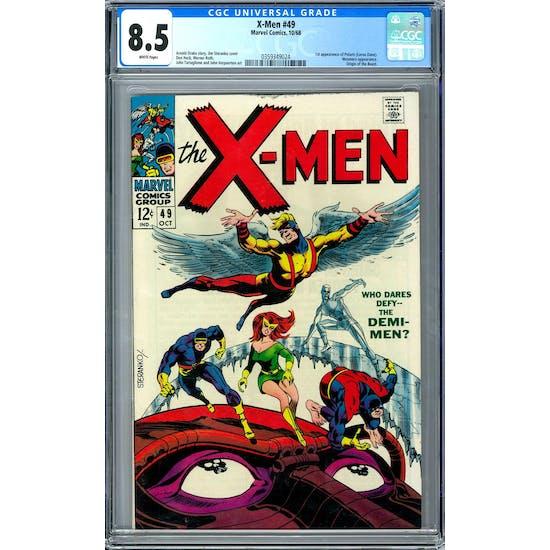 X-Men #49 CGC 8.5 (W) *0359349024*