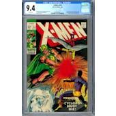 X-Men #54 CGC 9.4 (W) *0359349025*