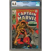 Captain Marvel #18 CGC 6.5 (OW-W) *0359546006*