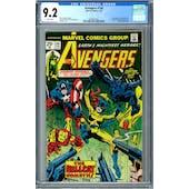 Avengers #144 CGC 9.2 (W) *0359551002*