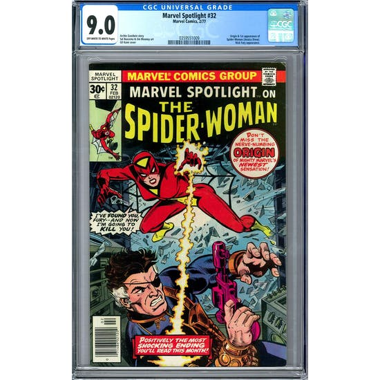 Marvel Spotlight #32 CGC 9.0 (OW-W) *0359551009*