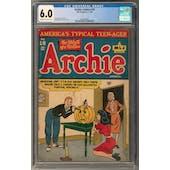 Archie Comics #18 CGC 6.0 (C-OW) *0359560001*