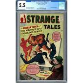 Strange Tales #108 CGC 5.5 (OW-W) *0360040016*