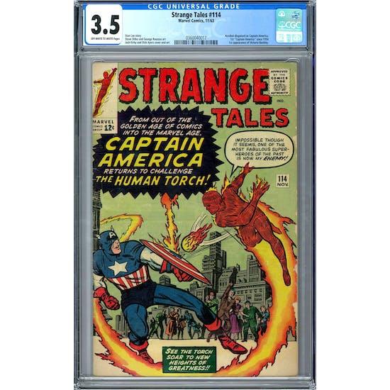 Strange Tales #114 CGC 3.5 (OW-W) *0360040017*