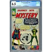 Journey Into Mystery #94 CGC 6.5 (OW-W) *0360042025*