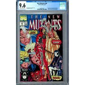 New Mutants #98 CGC 9.6 (OW-W) *0360707015*