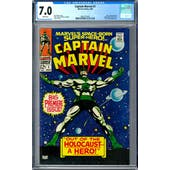 Captain Marvel #1 CGC 7.0 (W) *0361371003*