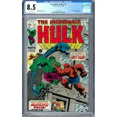 Incredible Hulk #122 CGC 8.5 (W) *0361371016*