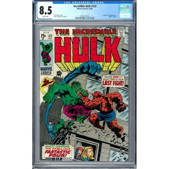 Incredible Hulk #122 CGC 8.5 (W) *0361371016*