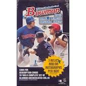 2003 Bowman Baseball Jumbo Box (Reed Buy)