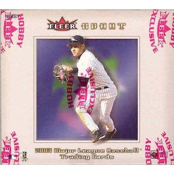 2003 Fleer Avant Baseball Hobby Box