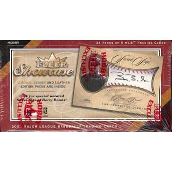 2003 Fleer Showcase Baseball Hobby Box