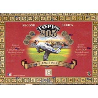 2003 Topps T-205 Series 2 Baseball Hobby Box