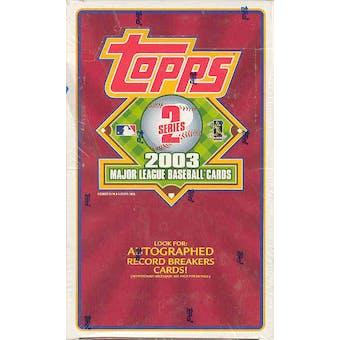 2003 Topps Series 2 Baseball 36 Pack Box