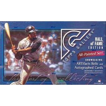 2003 Topps Gallery Hall of Fame Edition Baseball Hobby Box