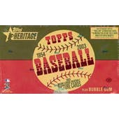 2003 Topps Heritage Baseball Hobby Box (Reed Buy)