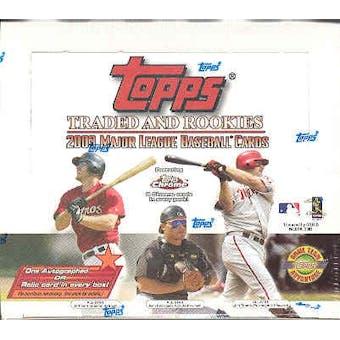 2003 Topps Traded & Rookies Baseball Jumbo Box
