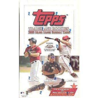 2003 Topps Traded & Rookies Baseball Hobby Box