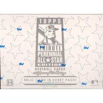 2003 Topps Tribute Perennial All-Star Edition Baseball Hobby Box