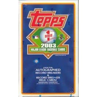 2003 Topps Series 1 Baseball Hobby Box