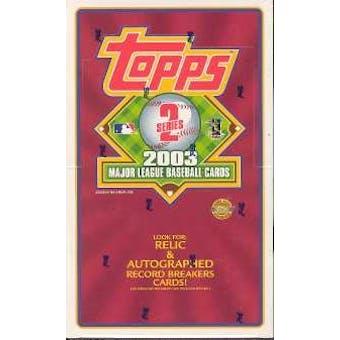 2003 Topps Series 2 Baseball Jumbo Box