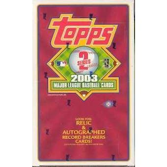 2003 Topps Series 2 Baseball Hobby Box