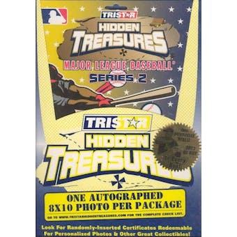 2003 Tristar Hidden Treasures Series 2 Baseball Autographed 8x10s Box