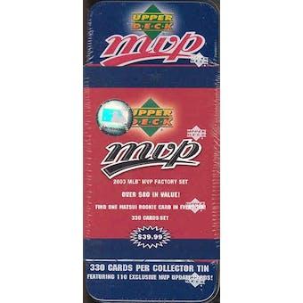 2003 Upper Deck MVP Baseball Factory Set (Box)
