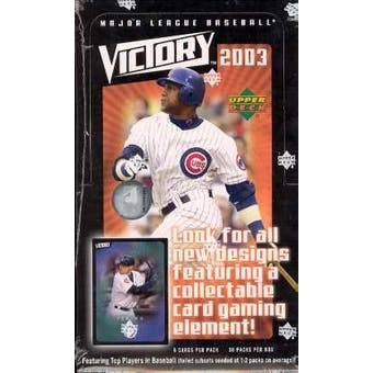 2003 Upper Deck Victory Baseball Hobby Box