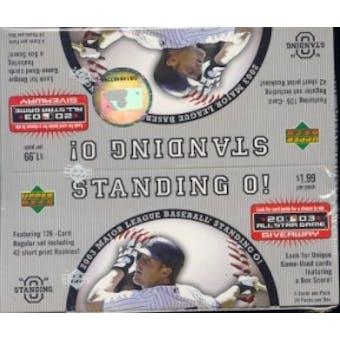 2003 Upper Deck Standing O! Baseball Box