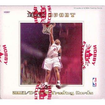 2003/04 Fleer Avant Basketball Hobby Box