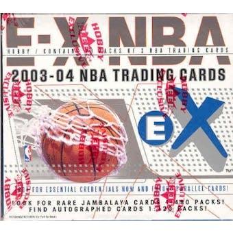 2003/04 Fleer Skybox E-X Basketball Hobby Box