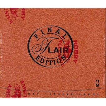 2003/04 Fleer Flair Final Edition Basketball Hobby Box