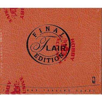 2003/04 Fleer Flair Final Edition Basketball Hobby Box