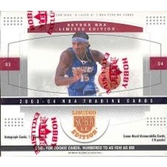 2003/04 Fleer Skybox Limited Edition Basketball Hobby Box
