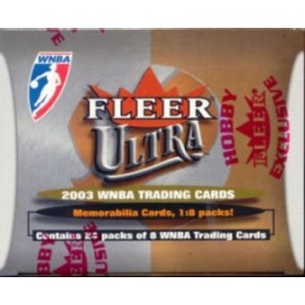 2003 Fleer Ultra WNBA Basketball Hobby Box