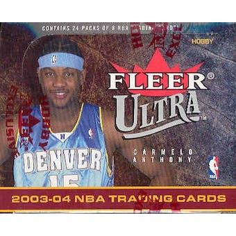 2003/04 Fleer Ultra Basketball Hobby Box