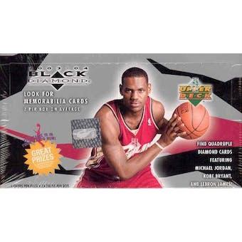 2003/04 Upper Deck Black Diamond Basketball Hobby Box
