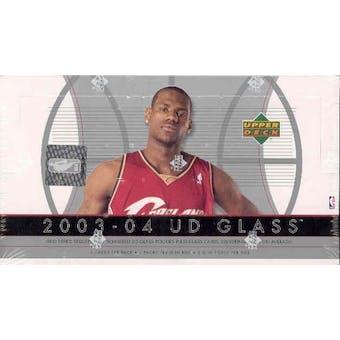 2003/04 Upper Deck Glass Basketball Hobby Box