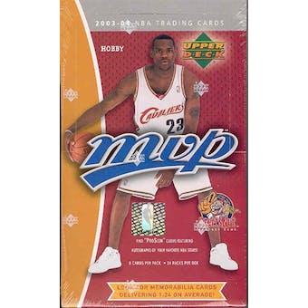 2003/04 Upper Deck MVP Basketball Hobby Box