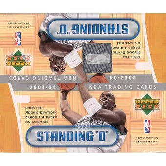2003/04 Upper Deck Standing O! Basketball 24 Pack Box