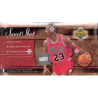 2003/04 Upper Deck Sweet Shot Basketball Hobby Box