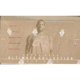 2003/04 Upper Deck Ultimate Collection Basketball Hobby Box