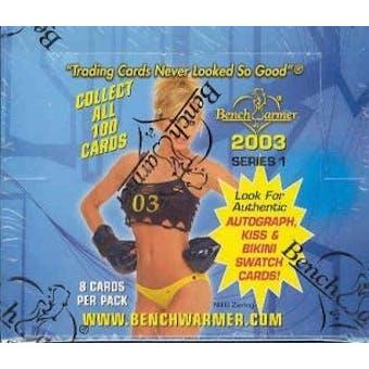BenchWarmer Series 1 Hobby Box (2003)