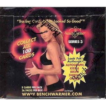 BenchWarmer Series 3 Hobby Box (2003)