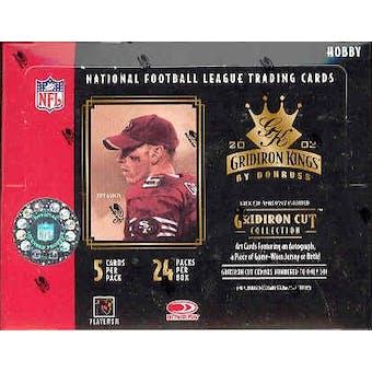 2003 Donruss Gridiron Kings Football Hobby Box
