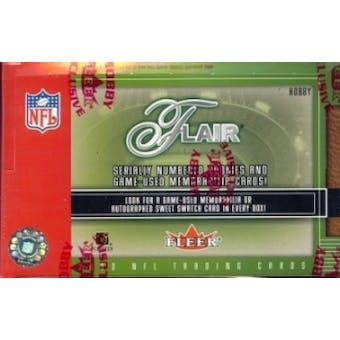2003 Fleer Flair Football Hobby Box